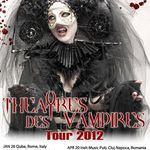 Detalii despre concertele Theatres Des Vampires in Romania