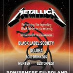 Metallica si Gojira confirmati pentru Sonisphere Polonia
