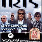 Voodoo canta in deschiderea concertului Iris la Bucuresti