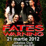 Ultimele bilete la pret promotional pentru concertul Fates Warning
