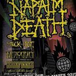 Programul concertului NAPALM DEATH la Cluj-Napoca