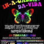 Poze cu IRON BUTTERFLY in concert la Bucuresti