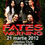 Castiga doua invitatii la concertul Fates Warning la Bucuresti!