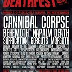 Filmari cu SUFFOCATION la Neurotic Deathfest