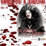 THE HOURGLASS canta in deschiderea concertului Theatres des Vampires la Cluj