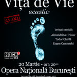 Concertul aniversar VITA DE VIE este sold-out