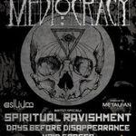 Spot video pentru concertul de lansare EP MEDIOCRACY din Fabrica