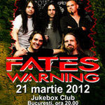 Castigatorii invitatiilor la concertul FATES WARNING din Jukebox