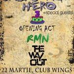 Concert aniversar BACKSTAGE HERO joi in Wings Club