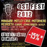 Biletele la OST FEST, mai ieftine cu 15%!