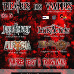 Noi trupe anuntate in deschiderea concertului THEATRES DES VAMPIRES de la Cluj