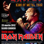 Concert BLAZE BAYLEY vineri in Silver Church Bucuresti