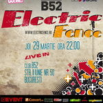 Concert ELECTRIC FENCE in club B52 din Bucuresti