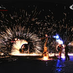 Crispus: The Art of Fire sustin un spectacol in Parcul Izvor