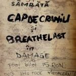 Filmari cu CAP DE CRANIU si BREATHELAST in Damage Club