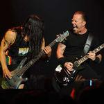 Metallica vor concerta in Rusia in 2010