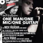 Concert acustic Nick Fagadar si Alex Purje in Cluj-Napoca