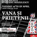 Concert DAN VANA in Mojo Club din Bucuresti