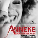 Detalii despre concertul ANNEKE VAN GIERSBERGEN la Bucuresti