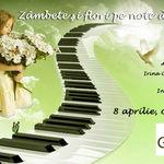 Concert caritabil de pian pentru copii orfani in Godot Cafe Teatru