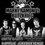 Programul concertului MARKY RAMONE'S Blitzkrieg luni la Bucuresti