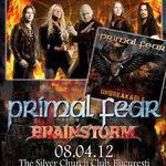 Poze cu PRIMAL FEAR si BRAINSTORM in concert la Bucuresti