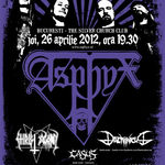 Noutati legate de concertul ASPHYX la Bucuresti