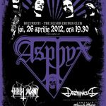 ASPHYX: Old school death metal la Bucuresti