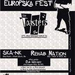 EuropSka Fest: Concert THE TOASTERS, SKA-NK si REHAB NATION la Cluj