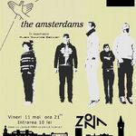 Concert THE AMSTERDAMS in club Zona din Iasi
