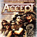 Concert Accept la Bucuresti in Jukebox Venue