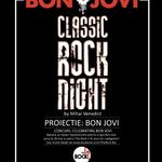 Proiectie Bon Jovi si concurs expozitie la Classic Rock Night in Iasi