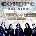 Europe au sustinut un show acustic in Italia (video)