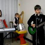 Un grup de copii din Romania au cantat alaturi de Rammstein (video)