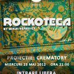 Proiectie Crematory la rockoteca din The Rock Iasi