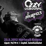 Ozzy Osbourne & Friends au dat startul turneului european