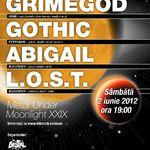 Tombola cu premii la concertul Grimegod, Gothic, Abigail si L.O.S.T din Ageless Club