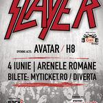Gary Holt (Exodus) in premiera in Romania in cadrul concertului Slayer!