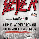 Concert Slayer luni la Bucuresti: Program si reguli de acces