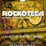 Rockoteca si proiectie Six Feet Under la Iasi