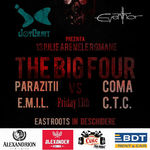 The Big Four vs. Friday 13th pe 13 iulie la Arenele Romane