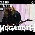 Filmari cu Megadeth in Lituania