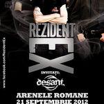 Desant: invitati in cadrul concertului Kempes & Rezident Ex de la Arenele Romane