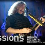 Megadeth: Invitati intr-un episod din 'Guitar Center Sessions' (video)