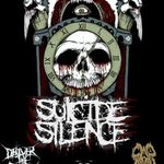 Suicide Silence, show de peste o ora pentru concertele din Romania