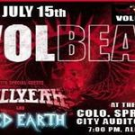 Solistul Volbeat a cantat alaturi de Iced Earth (video)