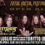 Gene Hoglan merge in turneu european cu Testament