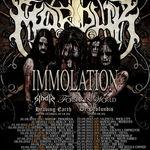 Marduk si Immolation la Bucuresti: Programul concertului