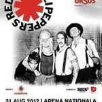 Parcare pentru spectatorii concertului Red Hot Chili Peppers