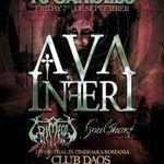 Ava Inferi nu vor mai canta in aceasta seara la Timisoara